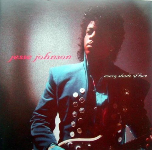 every shade of love / jesse johnsonのジャケット