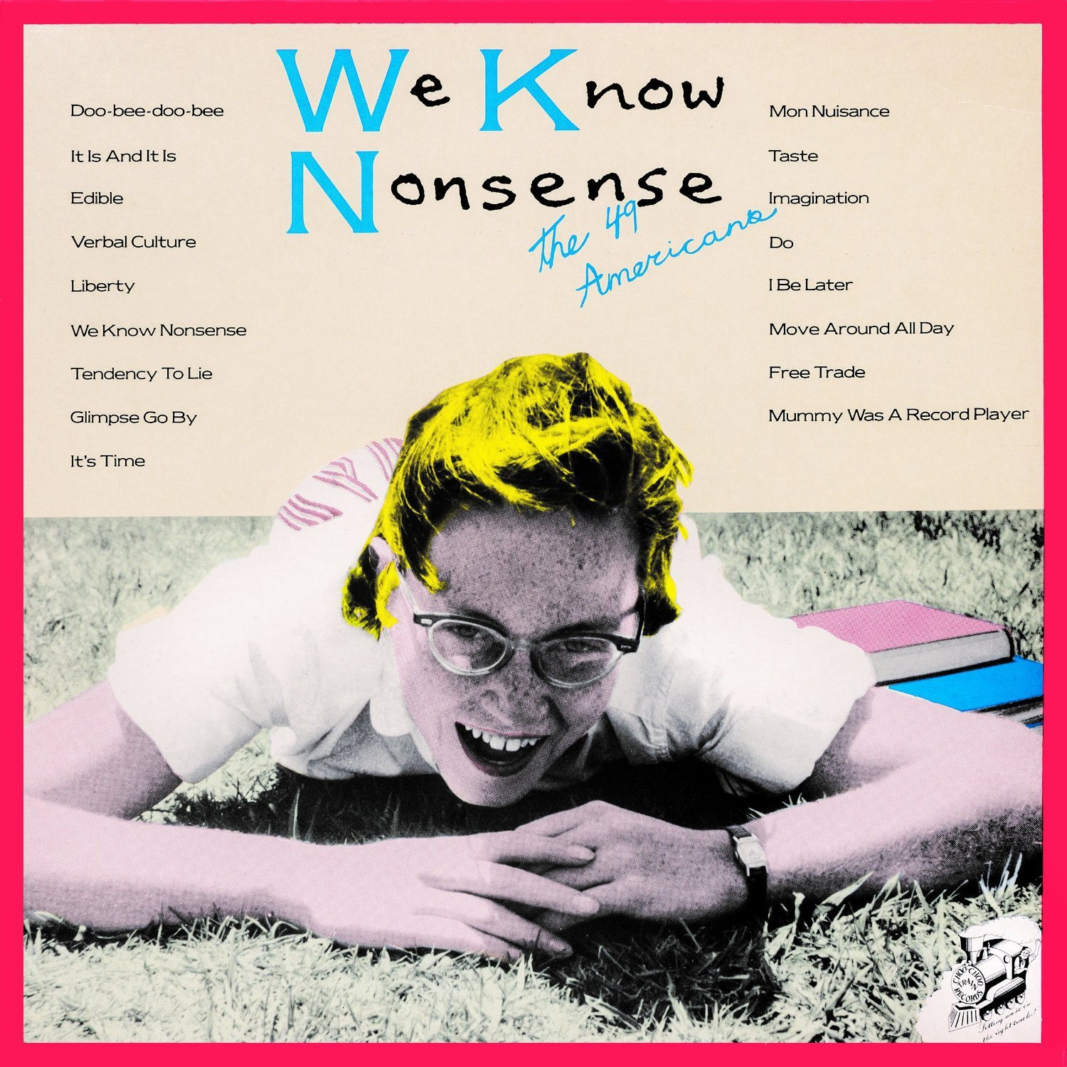 We Know Nonsense / 49 americansのジャケット