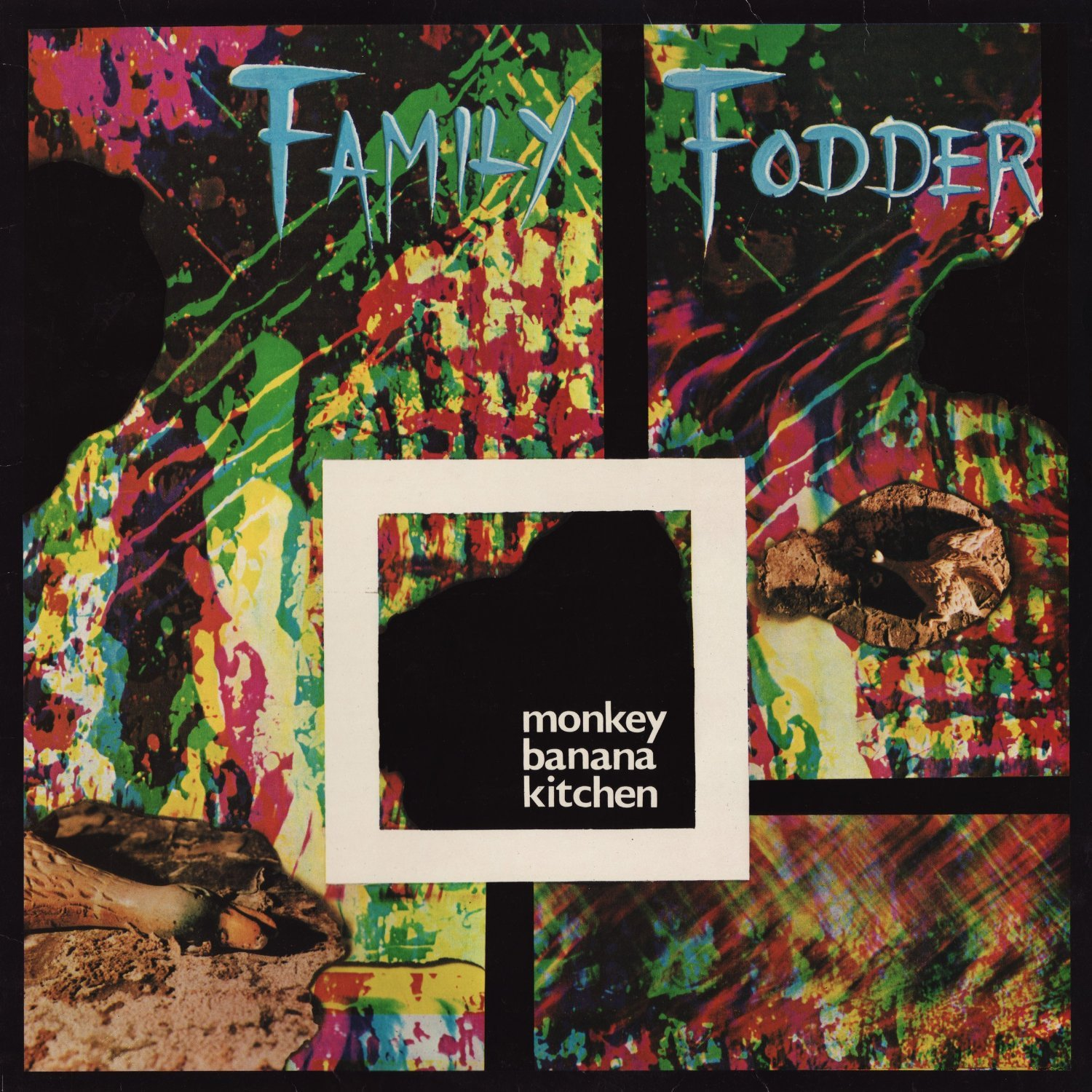 Monkey Banana Kitchen / Family Fodderのジャケット
