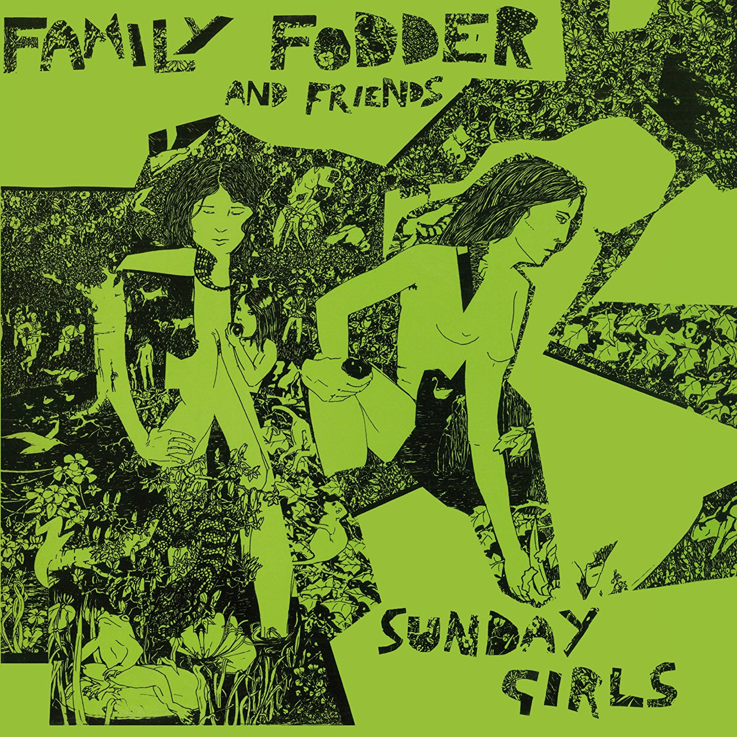 Sunday Girls / Family Fodderのジャケット