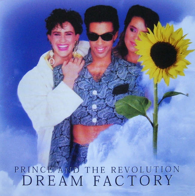 DREAM FACTORY / Prince and the revolutionsのジャケット