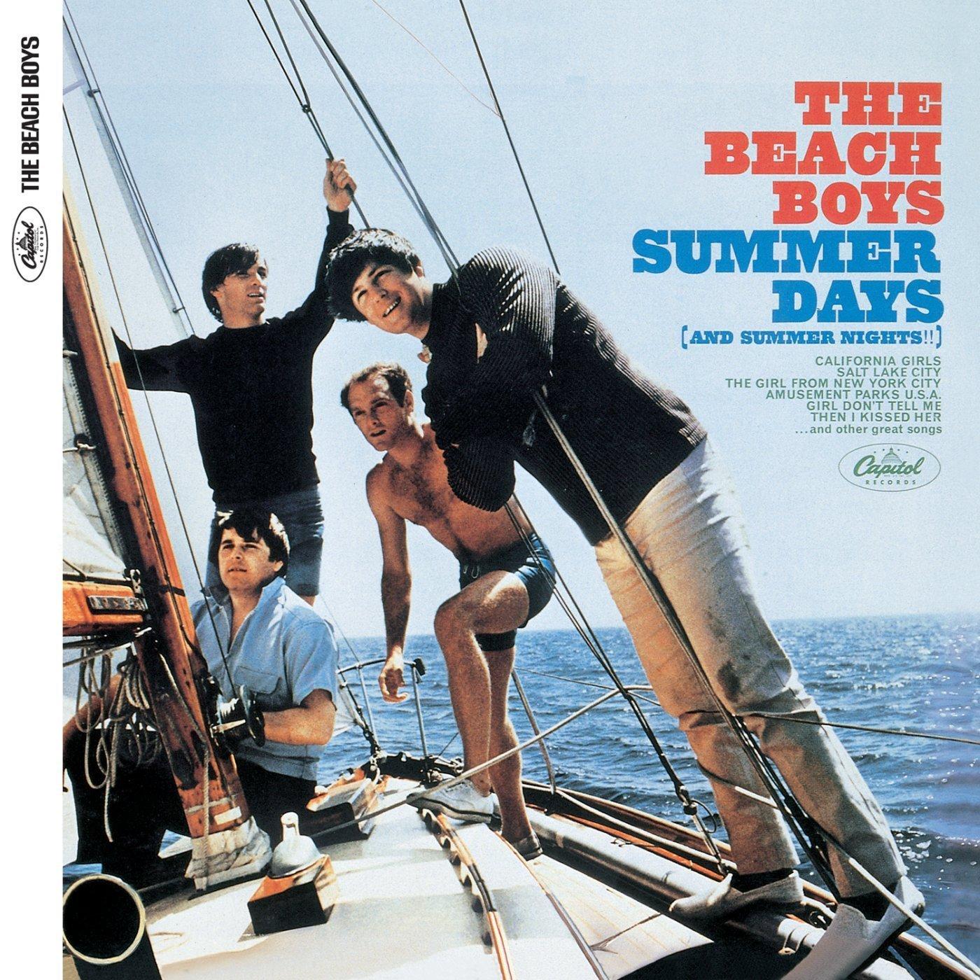 SUMMER DAYS (and summer nights!!) / THE BEACH BOYSのジャケット