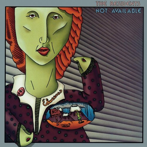 NOT  AVAILABLE / THE RESIDENTSのジャケット