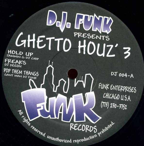 Ghetto Houz'3 / V.A.のジャケット