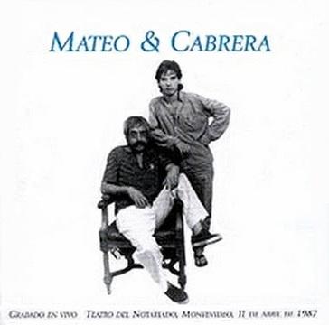 MATEO & CABRERA / MATEO & CABRERAのジャケット