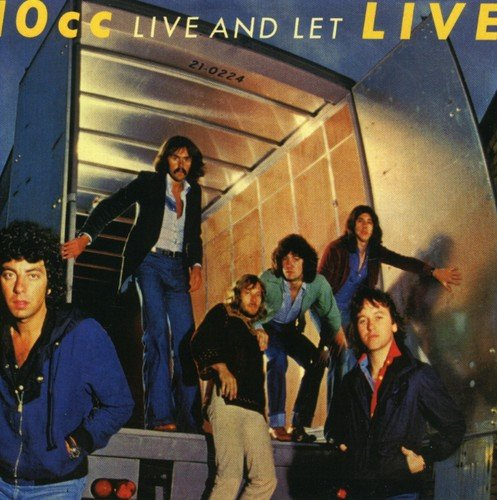 LIVE AND LET / 10ccのジャケット