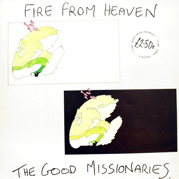 Fire from Heaven / GOOD MISSIONARIESのジャケット